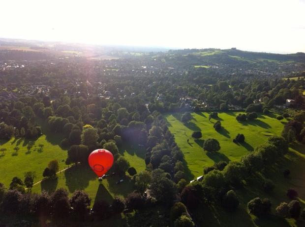 Bath balloon view