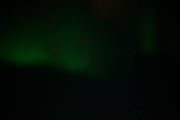northern lights blur