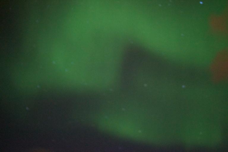 Northern lights bright