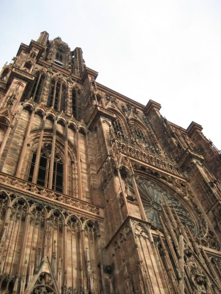 Strasbourg cathedral right