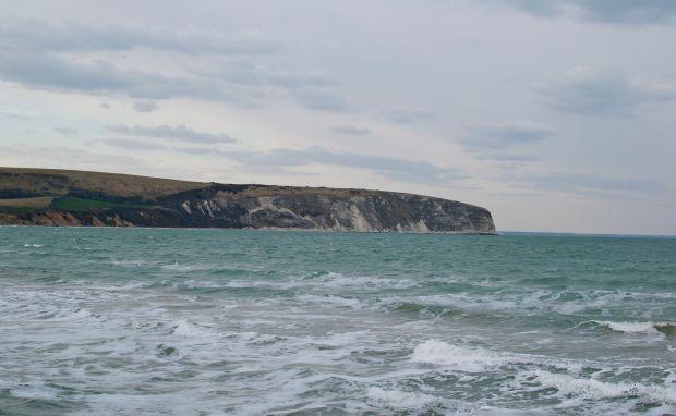Swanage cliff