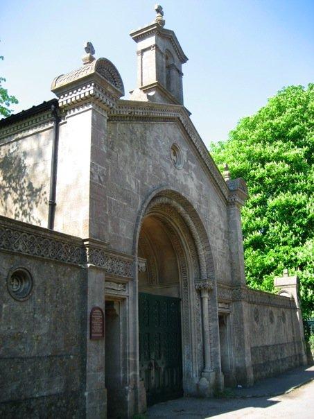 Beckfords Tower entrance