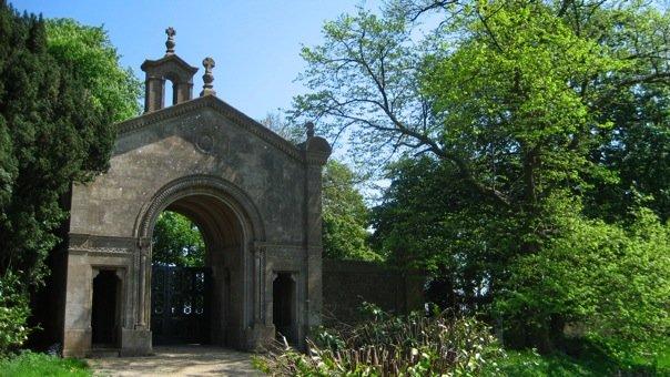 Beckfords Tower gate
