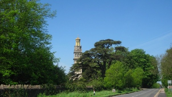 Lansdown brow and Beckfords Tower