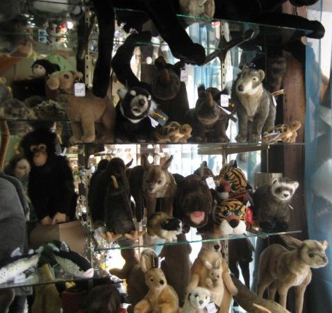 Strasbourg cuddly toy shop