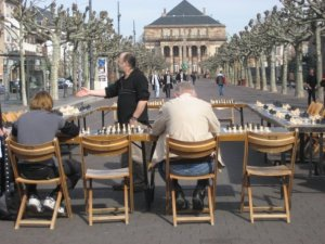 Strasbourg chess-players