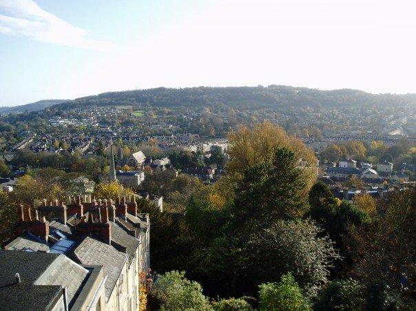 View from Bath bedroom window