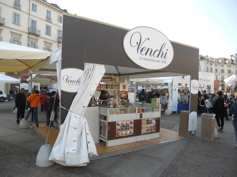 Photo of marquee at CioccolaTo