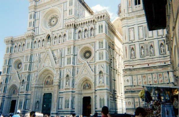 Duomo in Florence outside