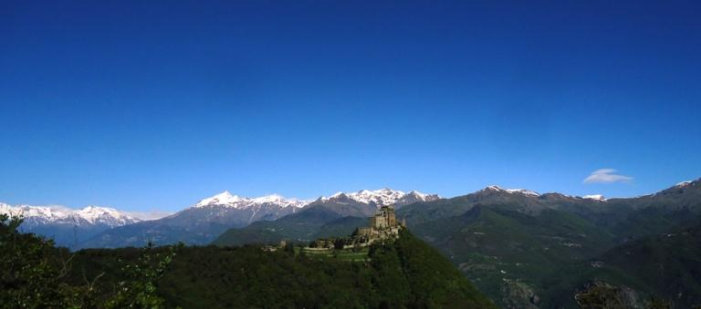 View of Sacra di San Michele