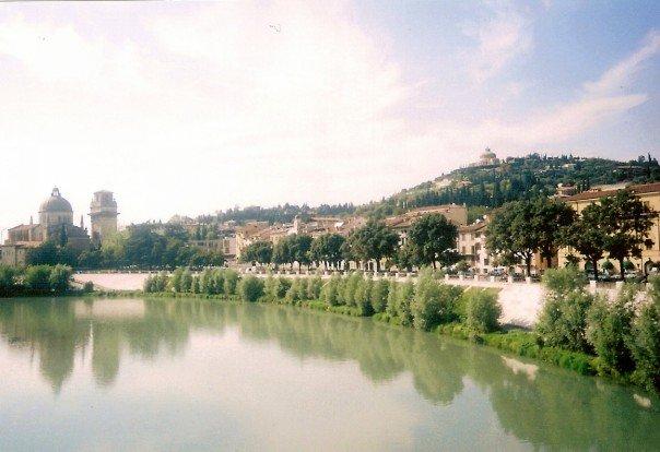 Verona and its castles.
