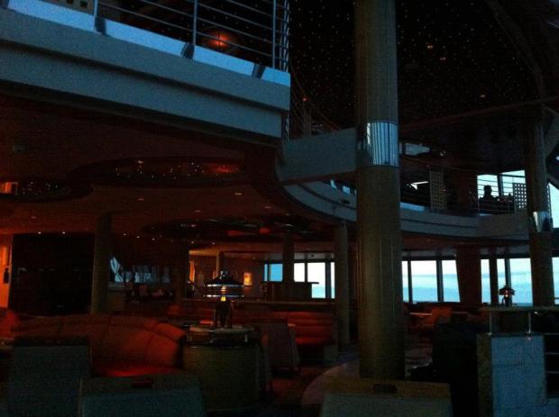 Observation deck evening