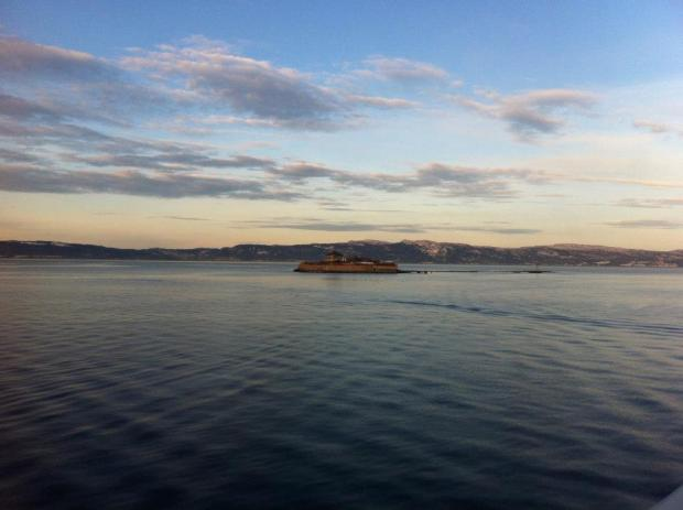 Trondheim view island
